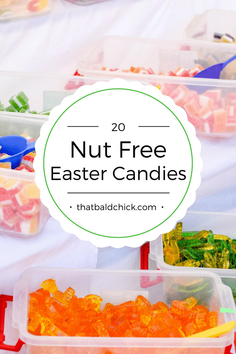 20 Nut Free Easter Candies at thatbaldchick.com