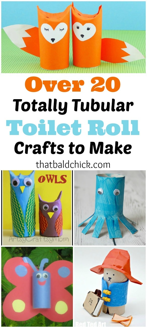 Totally Tubular Toilet Roll Crafts