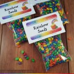 Rainbow Seeds Treat + free printable bag topper