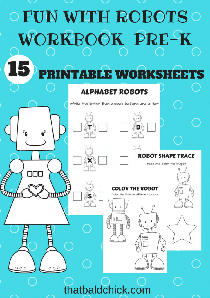 Fun With Robots Printable