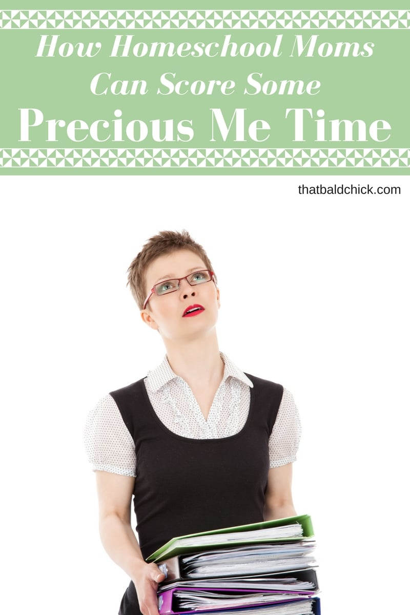 How Homeschool Moms Can Score Some Precious Me Time