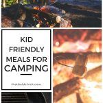 Camping With Kids – Meals