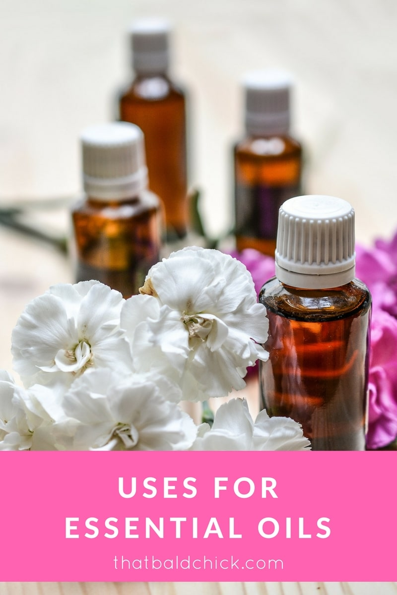 Uses for Essential Oils at thatbaldchick.com