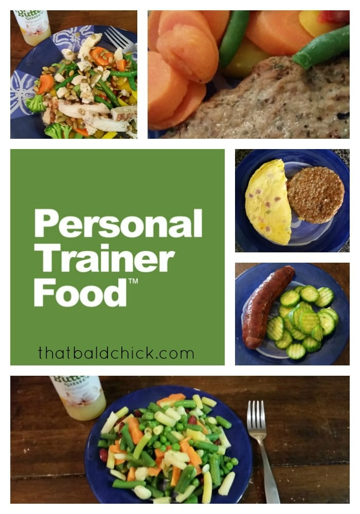 Personal Trainer Food at thatbaldchick.com