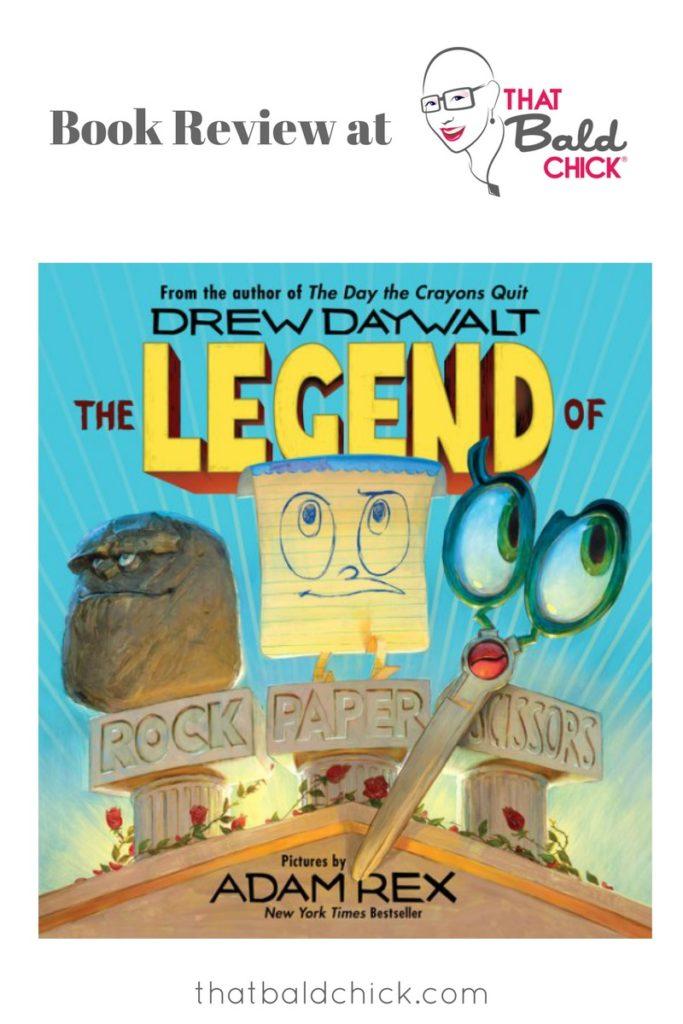 A review of The Legend of Rock, Paper, Scissors at thatbaldchick.com