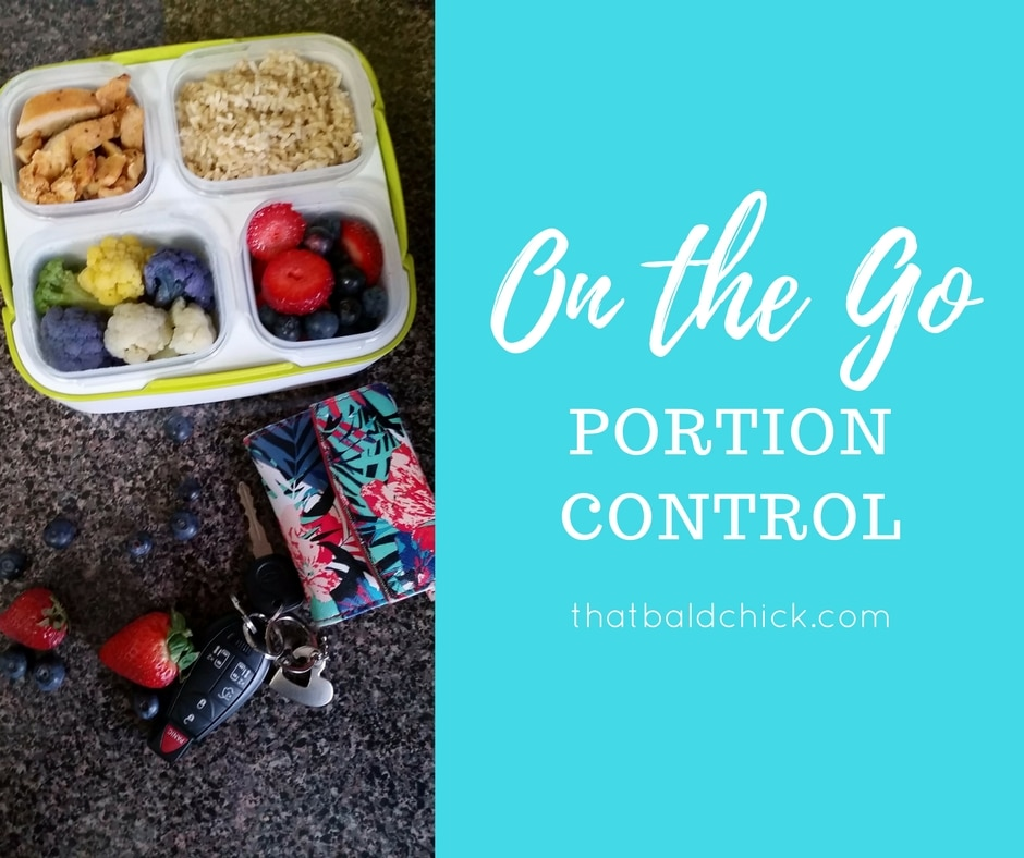 On the Go Portion Control at thatbaldchick.com
