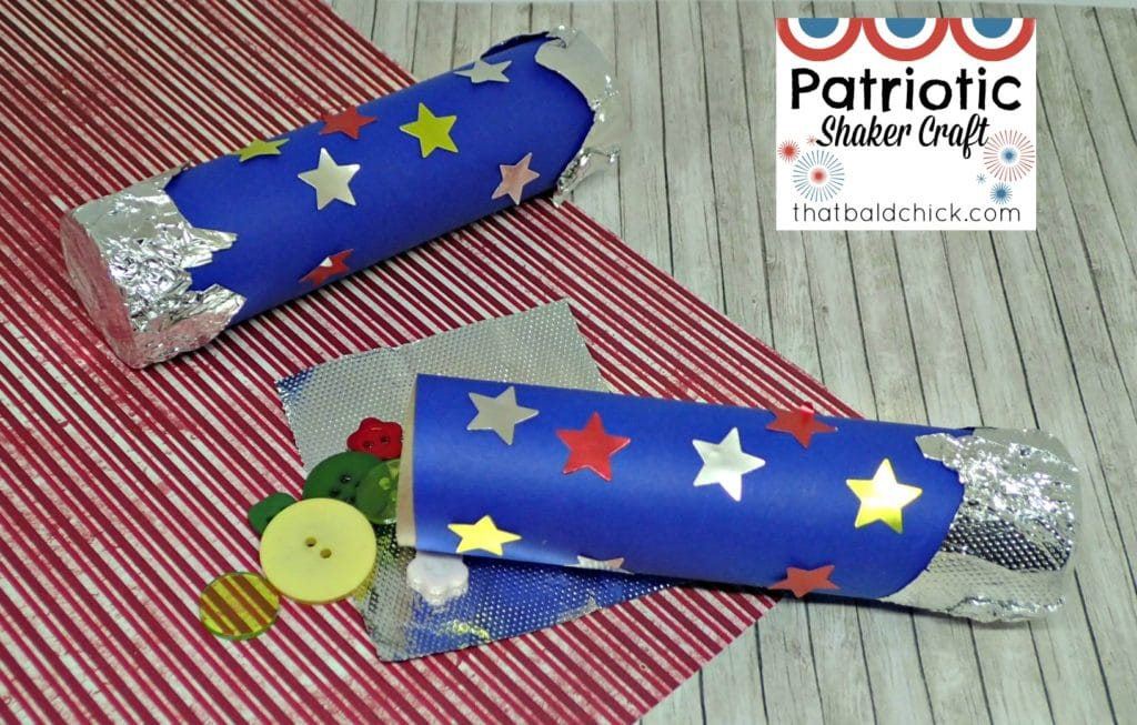 patriotic shaker craft at thatbaldchick.com