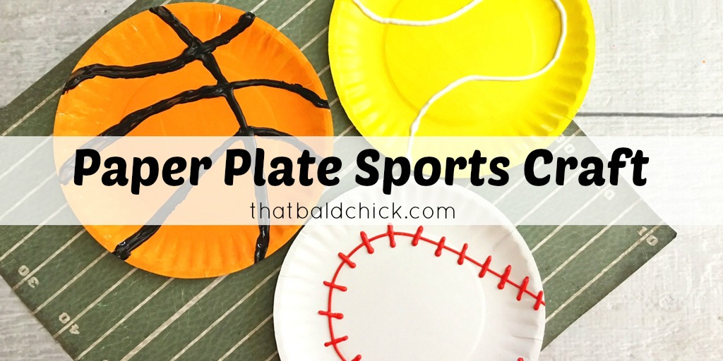 sports paper plates at thatbaldchick.com