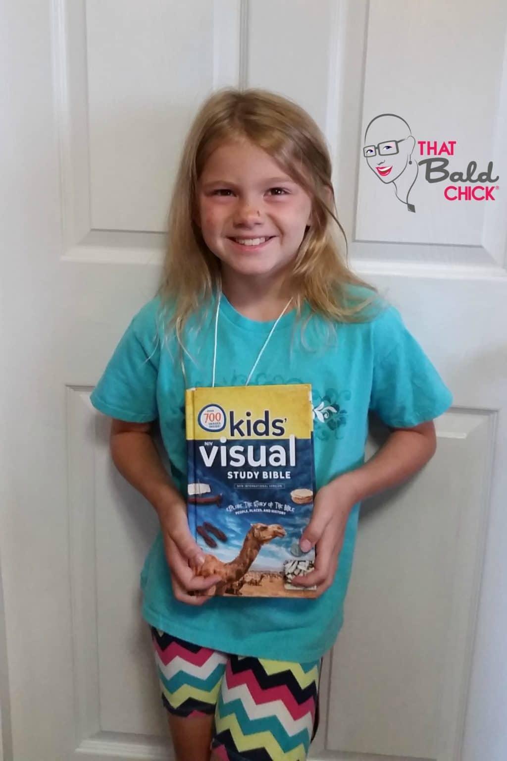 Big smiles for the NIV Kids Visual Study Bible