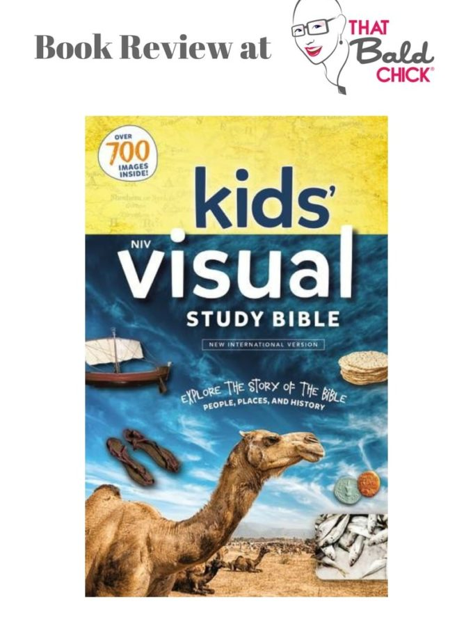 The NIV Kids' Visual Study Bible is a great option for children with reading difficulty.