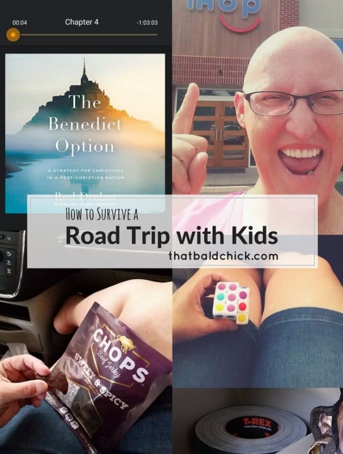 how to survive a road trip with kids at thatbaldchick.com