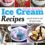 Delicious Homemade Ice Cream Recipes