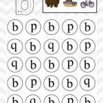 Lowercase Do A Dot Letter B