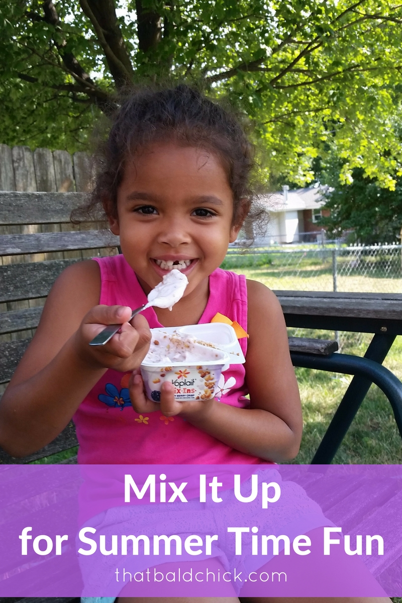 Mix It Up for Summer Time Fun with Yoplait Mix-Ins