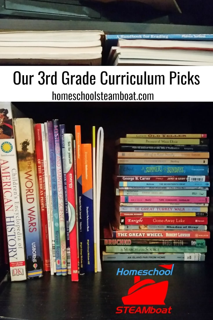 Our 3rd Grade Curriculum Picks at homeschoolsteamboat.com