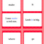 PreK Sight Word Flashcards
