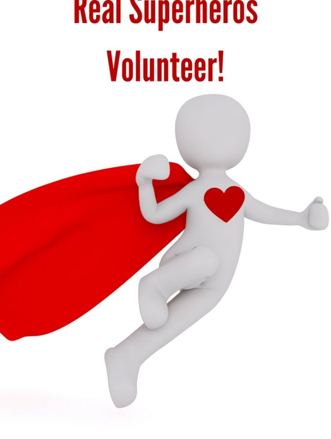 Real Superheros Volunteer! #volunteersuperhero
