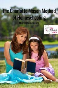 Learn more about The Charlotte Mason Methodof Homeschooling at thatbaldchick.com #homeschool #homeschooling #homeeducate