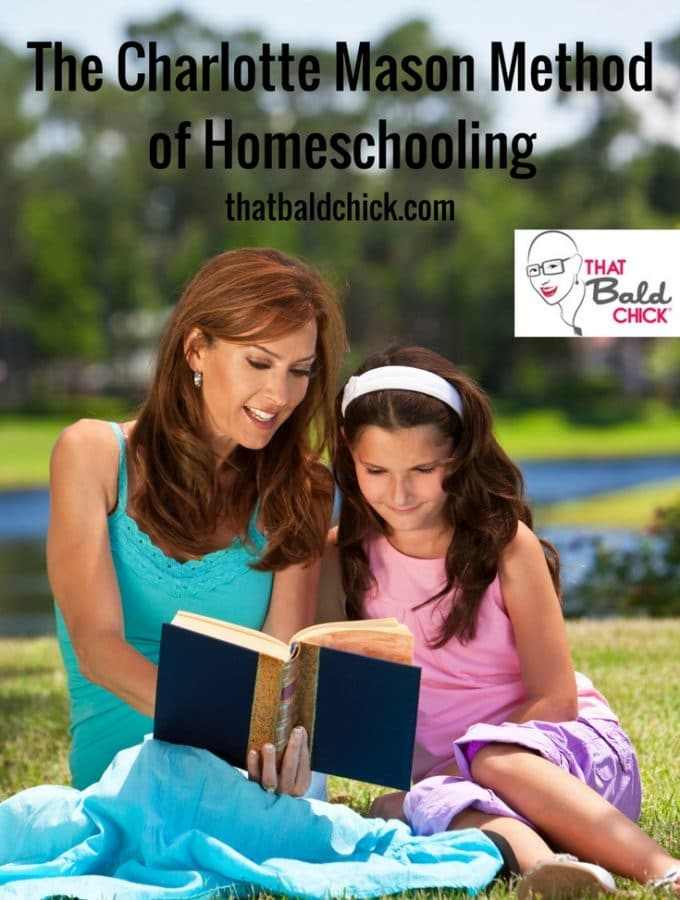 Learn more about The Charlotte Mason Methodof Homeschooling at thatbaldchick.com #homeschool #homeschooling #homeeducate