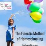 The Eclectic Method of Homeschooling