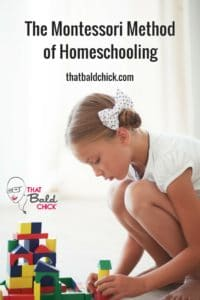 Learn about the #Montessori Method of #Homeschooling and see if it's right for your #homeschool! #HSMommas #HomeEducate