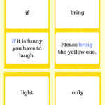 Third Grade Sight Words Flashcards