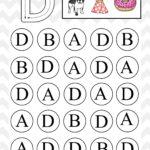 Uppercase Do A Dot Letter D