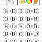 Uppercase Do A Dot Letter B