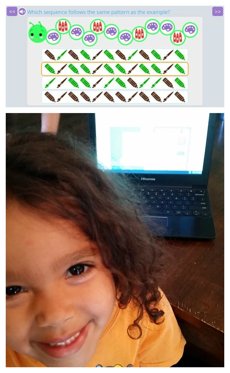 smartick sequencing and smiles