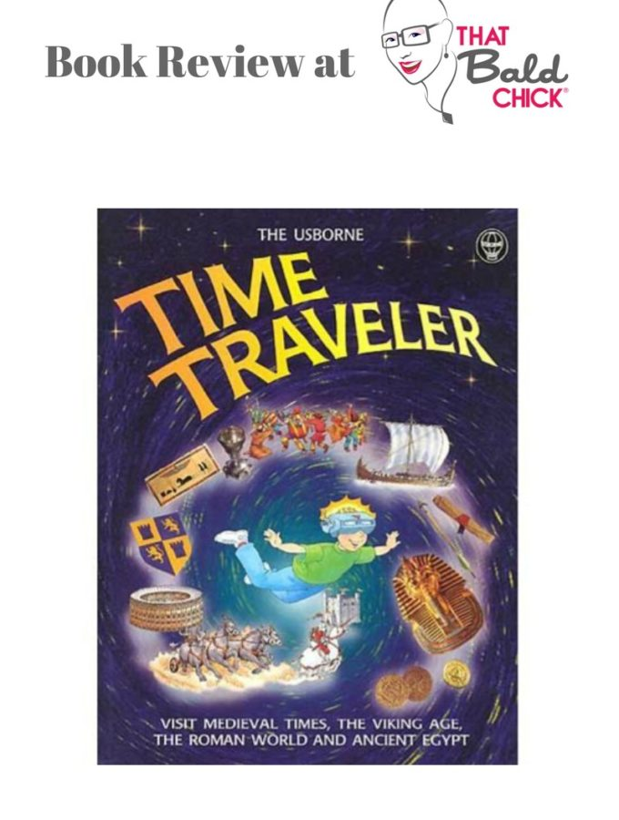 A review of Usborne Time Traveler at thatbaldchick.com #homeschool #homeschooling #history