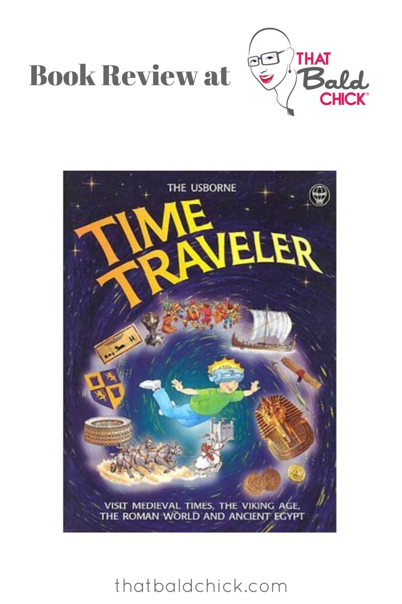 A review of Usborne Time Traveler at thatbaldchick.com #homeschool #homeschooling #history