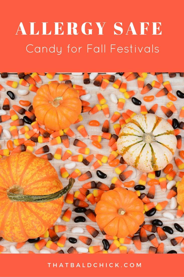 Allergy Safe Candy for Fall Festivals at thatbaldchick.com
