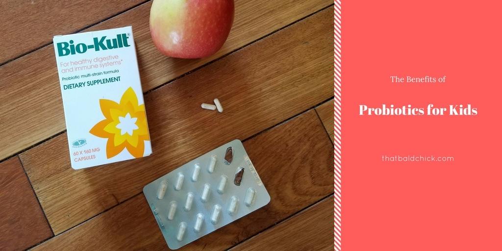 Benefits of Probiotics for Kids at thatbaldchick.com