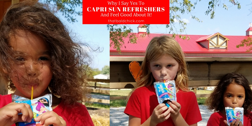 Why I Say Yes to Capri Sun Refreshers (and feel good about it)!