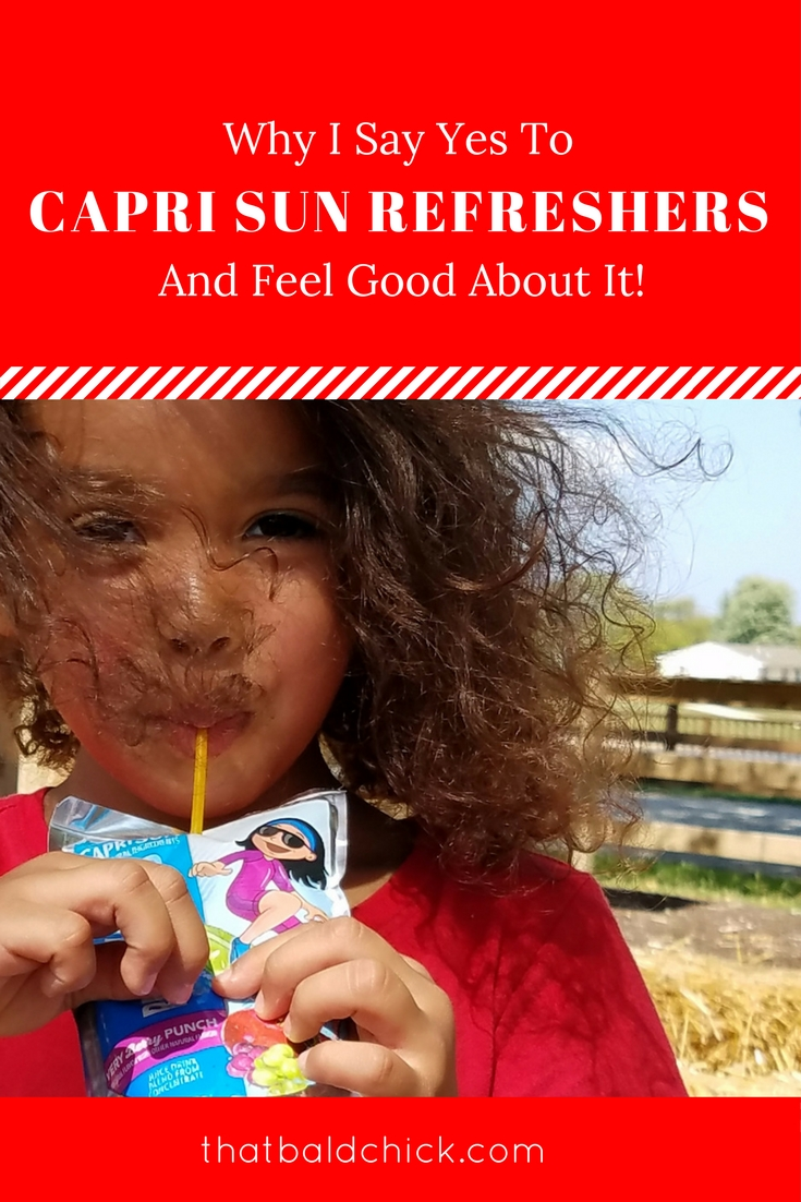 Why I say yes to Capri Sun Refreshers and feel good about it!
