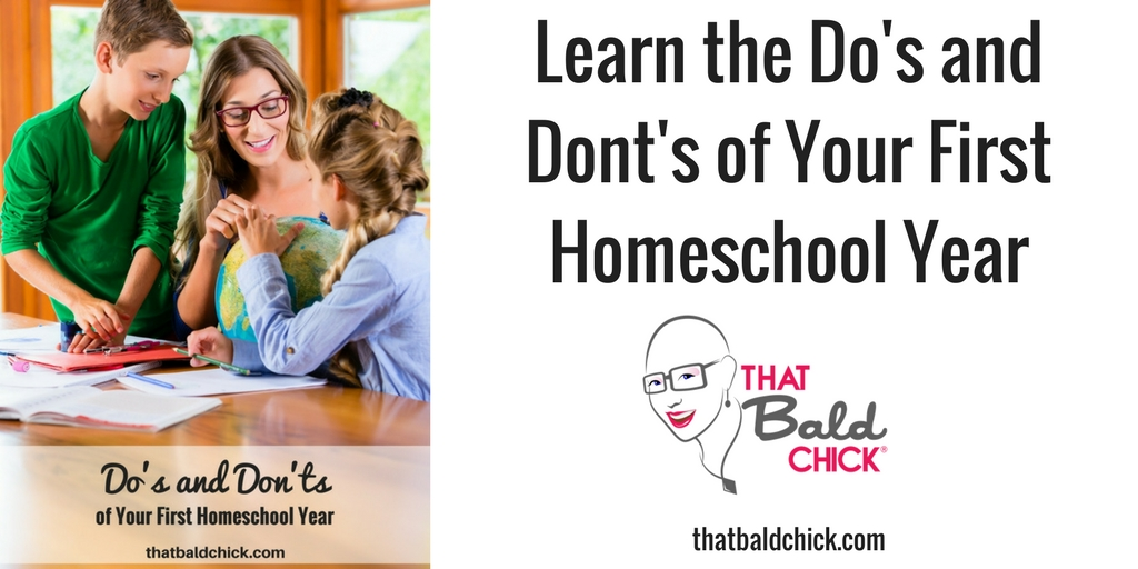 Do's and Don'ts First Homeschool Year