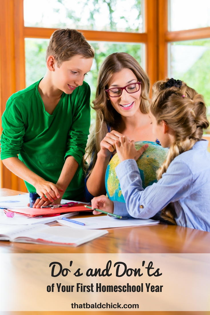 You have decided to dive in to #homeschooling. Here are some do's and don'ts of your first #homeschool year to help you avoid hitting the panic button. #homeeducate #HSMommas