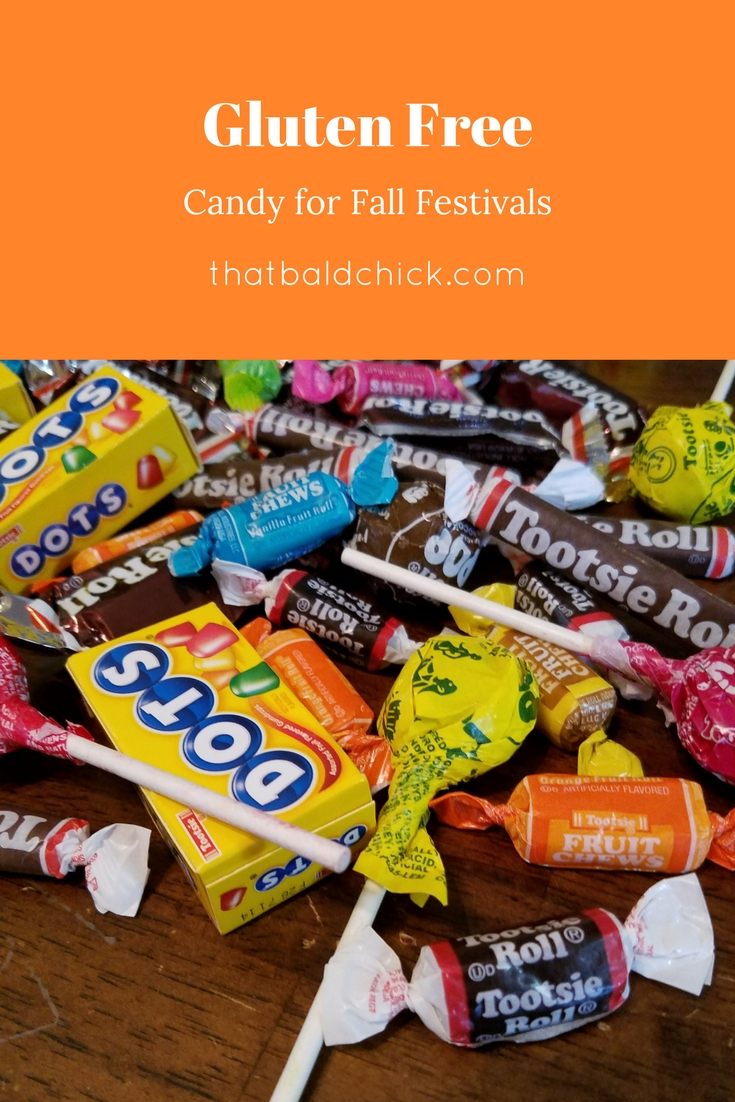 Gluten Free candy for fall festivals