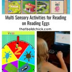 Multi Sensory Activities for Reading