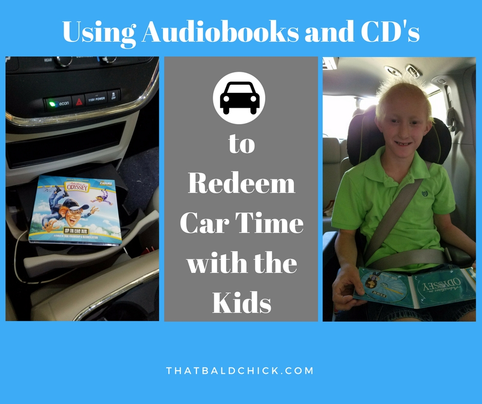 Redeem car time with the kids at thatbaldchick.com