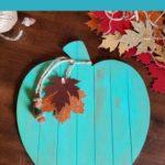 Rustic Shiplap Pumpkin