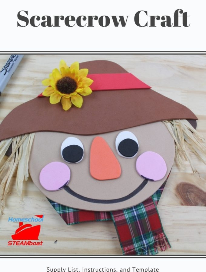 Scarecrow Craft at homeschoolsteamboat.com