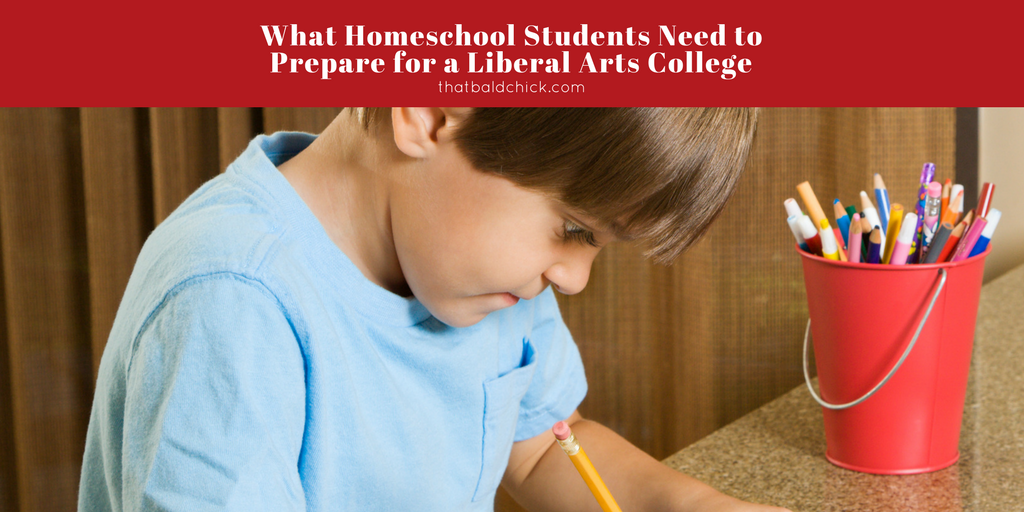 What homeschool students need to prepare for a liberal arts college