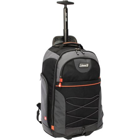 coleman rolling backpack