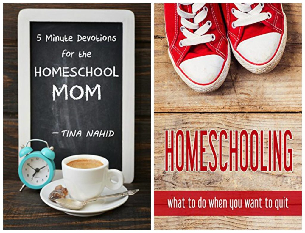 Two of my favorite ebooks for homeschool moms, from thatbaldchick.com