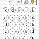 Lowercase Do A Dot Letter k