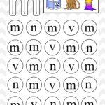 Lowercase Do A Dot Letter m