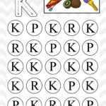 Uppercase Do A Dot Letter K