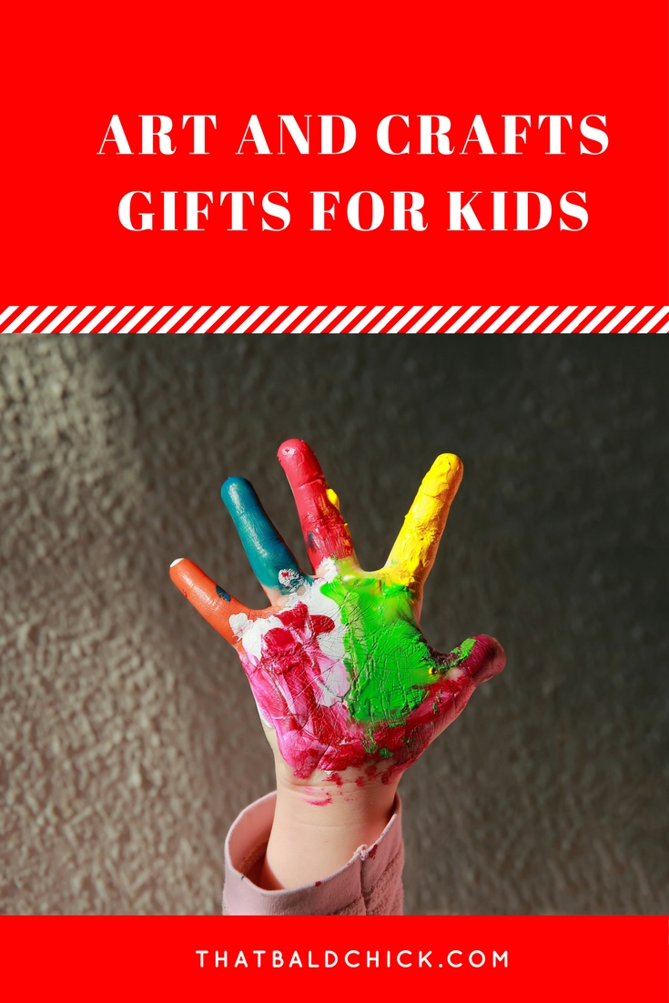 Check out these Arts and Crafts Gifts for Kids at thatbaldchick.com
