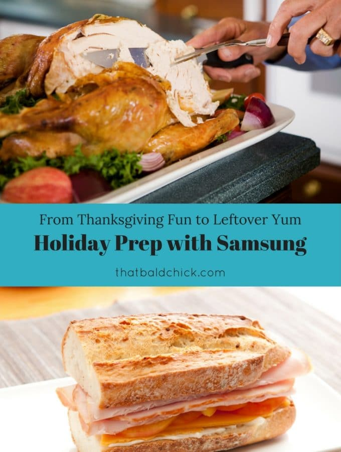 Holiday Prep with Samsung at thatbaldchick.com